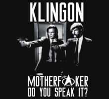 Klingon motherf**ker do you speak it? Pulp fiction parody by King84