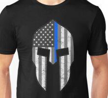 American Spartan Thin Blue Line  Unisex T-Shirt