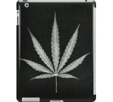 Cannabis Leaf Print  iPad Case/Skin