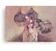 Eagle princess Canvas Print