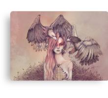 Eagle princess Canvas Print