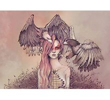 Eagle princess Photographic Print