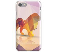 Polygon Lion iPhone Case/Skin