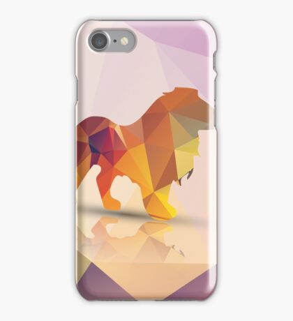 Polygon Lion iPhone Case/Skin