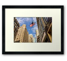 The Colors of Broadway II Framed Print