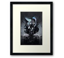 The Carrion Widow from Below the Cliffs Framed Print