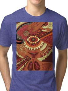 Animal Collective 2010 Tri-blend T-Shirt