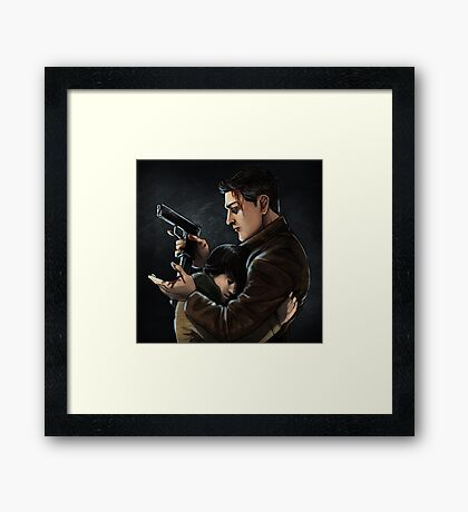 Protect Sammy Framed Print