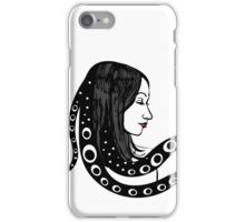 Fantastic portrait in vintage style. Undine. iPhone Case/Skin
