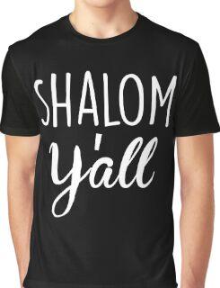 Shalom Y'all Graphic T-Shirt
