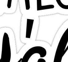 Shalom Y'all Sticker