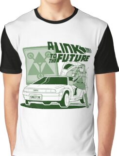 LINK TO THE FUTURE ZELDA Graphic T-Shirt