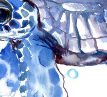 Sea Turtle, cute Turtle Blue turtle Sticker