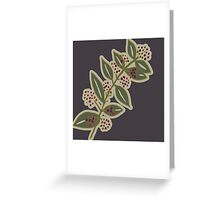 Annabelle Grace in Grey Greeting Card