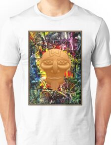 AFRICAN JUNGLE; Abstract Witch Doctor Print Unisex T-Shirt