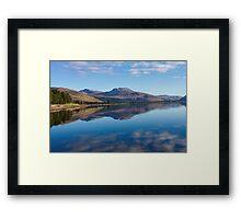 Loch Carron from the village of Lochcarron Framed Print