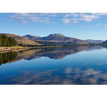 Loch Carron from the village of Lochcarron Photographic Print