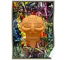 AFRICAN JUNGLE; Abstract Witch Doctor Print Poster