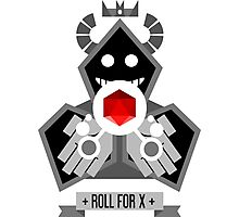 Roll for X Photographic Print