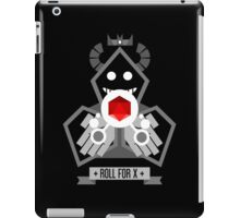 Roll for X iPad Case/Skin