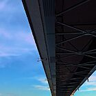 Bridge across the river Danube III | architectural photography by Patrick Jobst