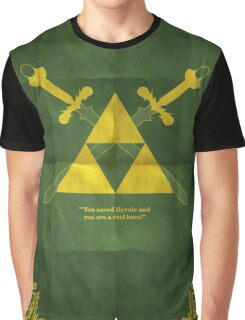 THE ZELDA MAP STYLE Graphic T-Shirt