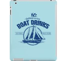 Boat Drinks iPad Case/Skin