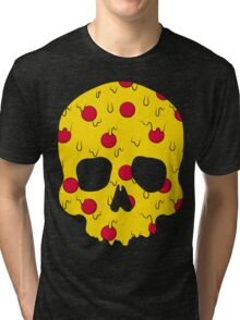 Skull Pizza Tri-blend T-Shirt