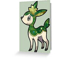 cute galaxy deerling  Greeting Card
