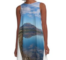 Loch Carron from the village of Lochcarron A-Line Dress