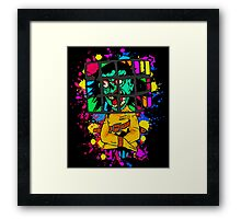 Toybox Jackal Framed Print