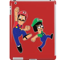 Super Burger Family iPad Case/Skin