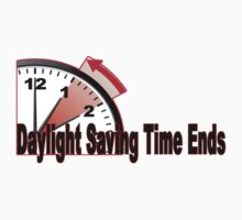 Daylight Saving Time ends by redbuble2014