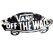 vans off the wall 2 Photographic Print