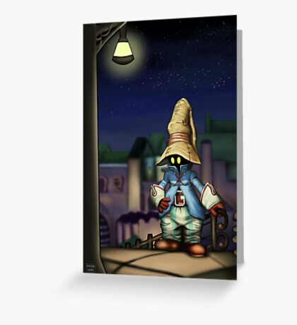 Vivi in Treno Greeting Card