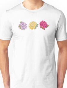 Decorative Roses Unisex T-Shirt