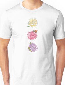 Decorative Roses Unisex T-Shirt