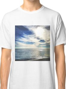 Clouds over the Lake Michigan Shoreline Classic T-Shirt
