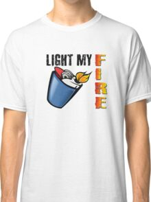 Light My Fire The Doors Rock Music Quotes Classic T-Shirt