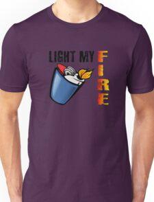 Light My Fire The Doors Rock Music Quotes Unisex T-Shirt