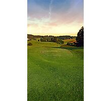 Summer morning at the golf club II | landscape photography Photographic Print