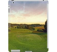 Summer morning at the golf club II | landscape photography iPad Case/Skin