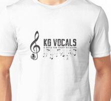 KG Vocals Logo Unisex T-Shirt