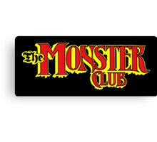 The Monster Club Canvas Print