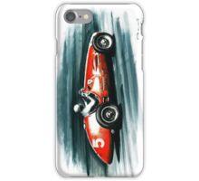 1953 Ferrari 500 F2 iPhone Case/Skin