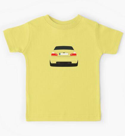 E46 rear-end Kids Tee