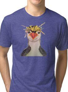 Rock Hopper Penguin Tri-blend T-Shirt