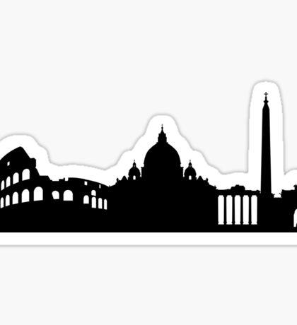 Rome skyline Sticker