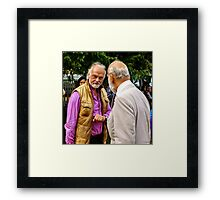 Guess who ... beards HRH Prince Michael of Kent Framed Print