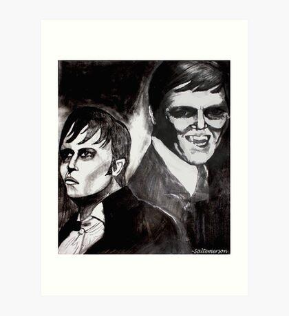 Fear of the Vampire Art Print